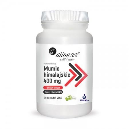 ALINESS Mumio himalajskie (Shilajit extract) 400mg 90kap vege