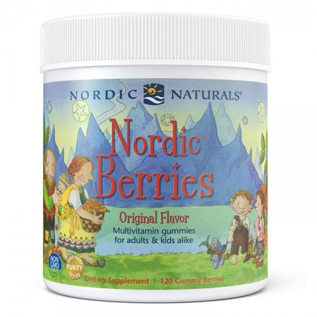 NORDIC NATURALS Nordic Berries 120żelków cytrusowych