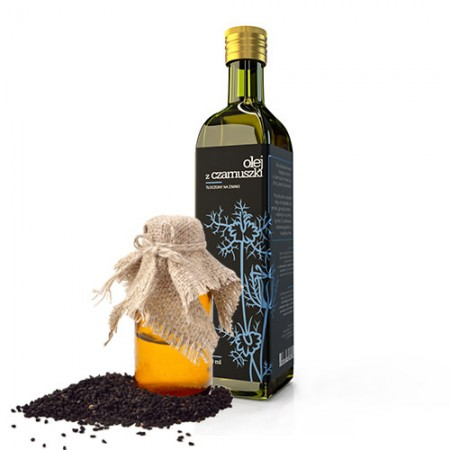 GRANUM OILS Olej z czarnuszki tłoczony na zimno 250ml