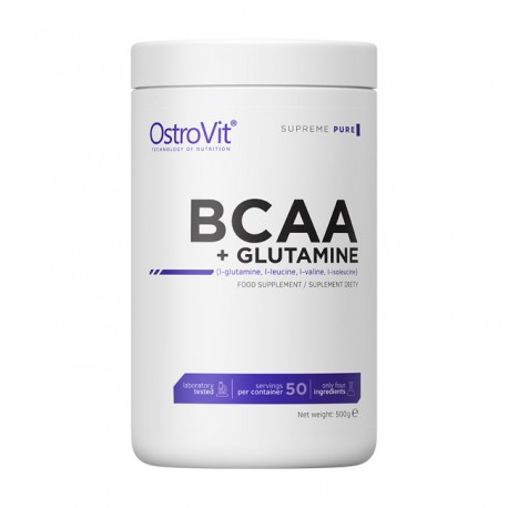 OSTROVIT Supreme Pure BCAA + Glutamine 500g