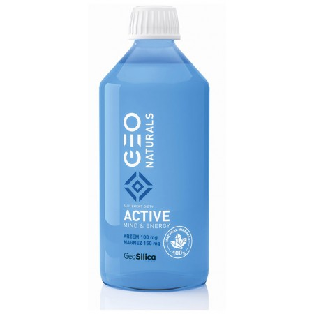 GEONATURALS Silica Active - Krzem + magnez 500ml