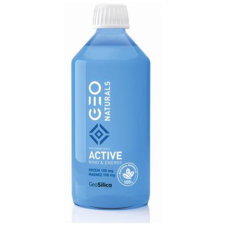 GEONATURALS Silica Active - Krzem + magnez 500 ml
