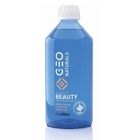 GEONATURALS Silica Beauty - Krzem + cynk + miedź 500ml