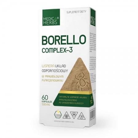 MEDICA HERBS Borello complex-3 60kap