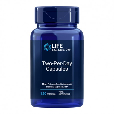 LIFE EXTENSION Two-Per-Day 120kaps