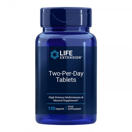 LIFE EXTENSION Two-Per-Day 120tab