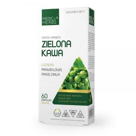 MEDICA HERBS Zielona kawa 60 kaps