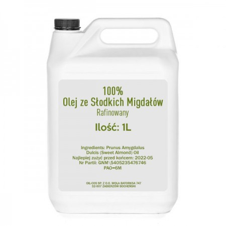 OIL-COS Olej ze Słodkich Migdałów 1L