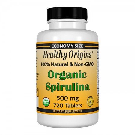 HEALTHY ORIGINS Organic Spirulina 500mg 720tab