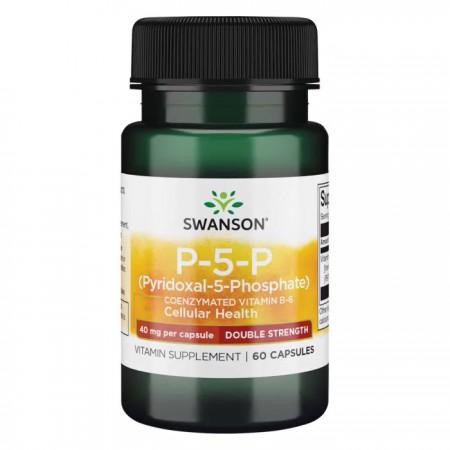 SWANSON P-5-P (Witamina B6) 60kaps