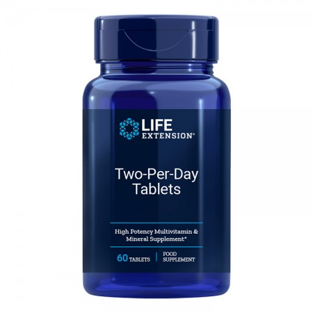 LIFE EXTENSION Two-Per-Day 60tab