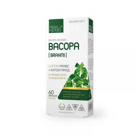 MEDICA HERBS Bacopa (Brahmi) 60kaps