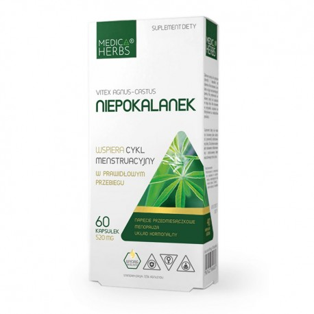 MEDICA HERBS Niepokalanek (Vitex) 60kaps