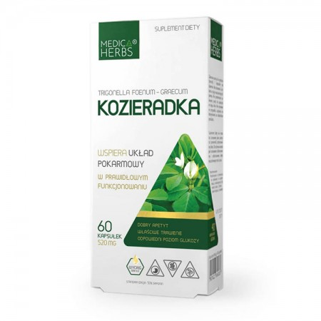 MEDICA HERBS Kozieradka 60kaps