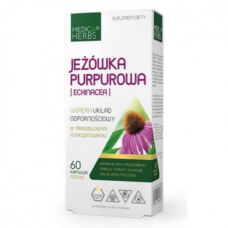 MEDICA HERBS Jeżówka Purpurowa 60kaps