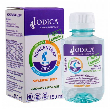 IODICA Koncentrat Jodu 150ml