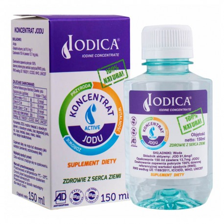 IODICA Koncentrat Jodu 150ml