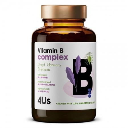 HealthLabs Vitamin B complex 60kap vege