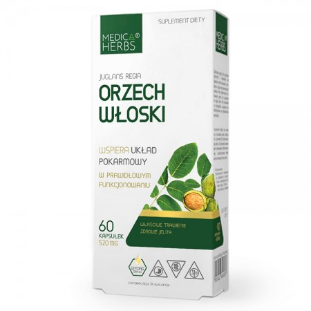 MEDICA HERBS Orzech Włoski 60kaps