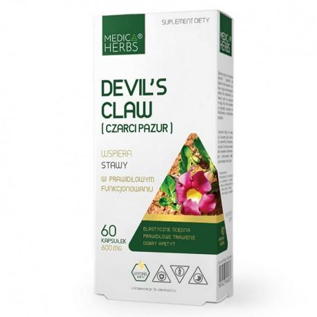 MEDICA HERBS Devil's Claw (Czarci Pazur) 60kaps