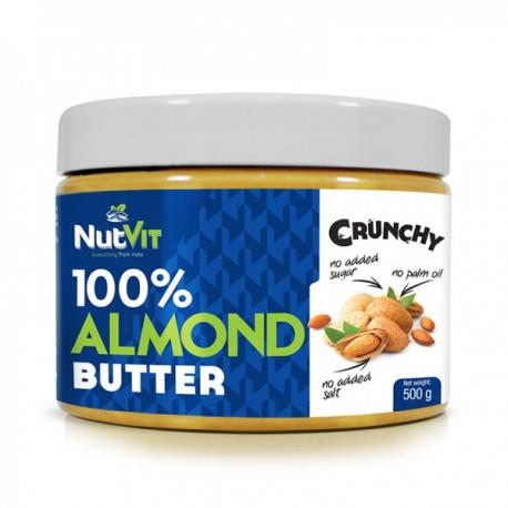 100% Almond Butter 500g Crunchy