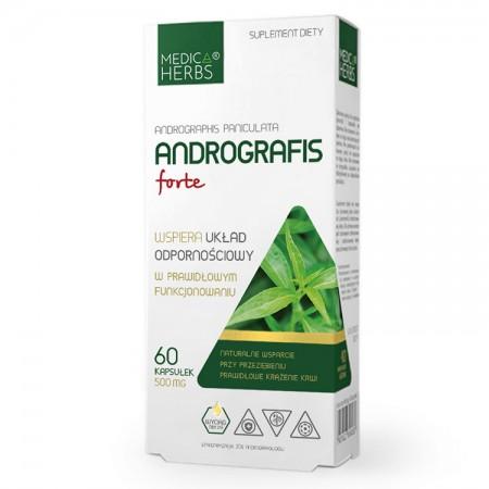 MEDICA HERBS Andrografis Andrographis Forte 60kaps