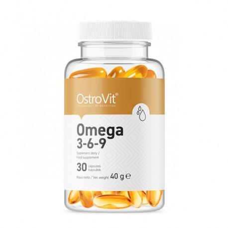 OSTROVIT Omega 3-6-9 30kaps
