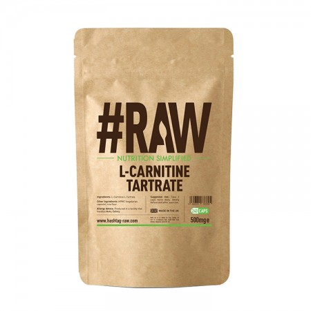 RAW L-carnitine Tartrate 240kaps wege