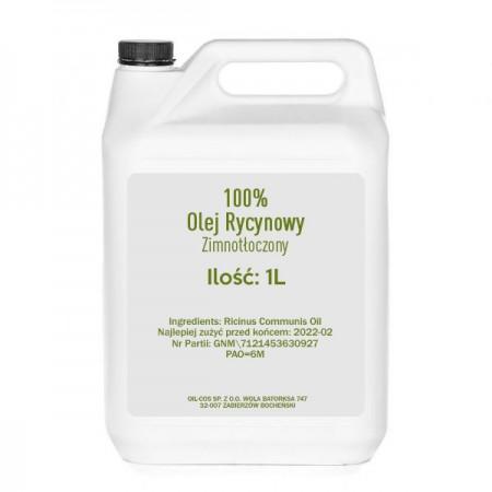 OIL-COS Olej Rycynowy 1000ml