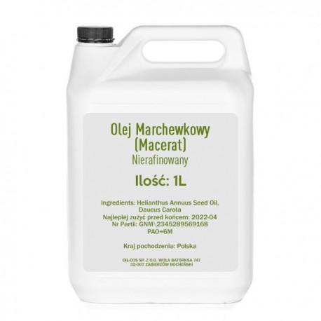 OIL-COS Olej Marchewkowy Macerat 1000ml