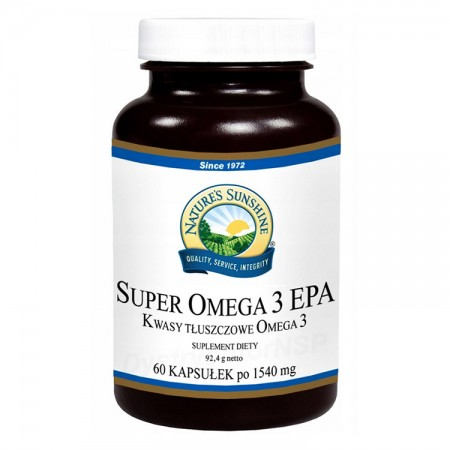 NATURE'S SUNSHINE Super Omega 3 EPA 60kaps