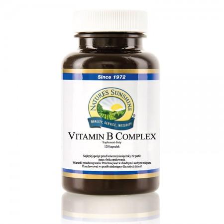 NATURE'S SUNSHINE Vitamin B Complex 120kaps