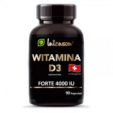 INTENSON Witamina D3 4000 IU 90kaps