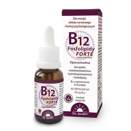 DR. JACOB'S B12 Fosfolipidy Forte 20ml Liposomalna