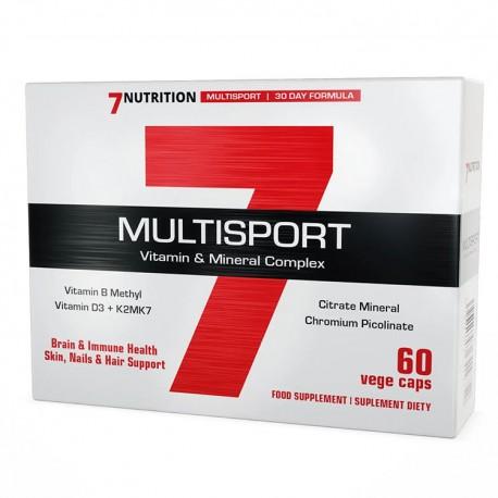 7NUTRITION Multisport 60kap vege