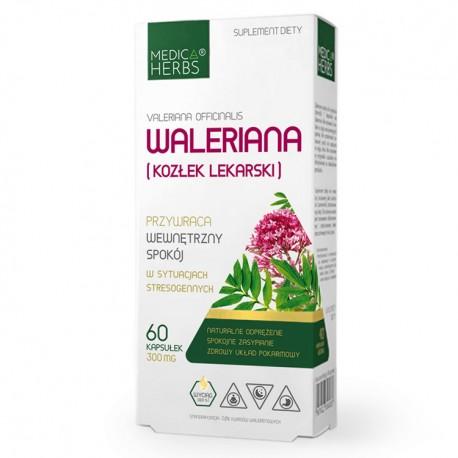 MEDICA HERBS Waleriana (Kozłek lekarski) 60kaps