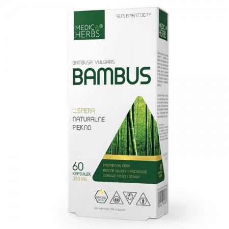 MEDICA HERBS Bambus (Bambusa vulgaris) 60kaps