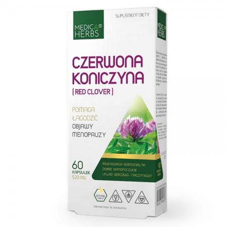 MEDICA HERBS Czerwona koniczyna (Red clover) 60kaps