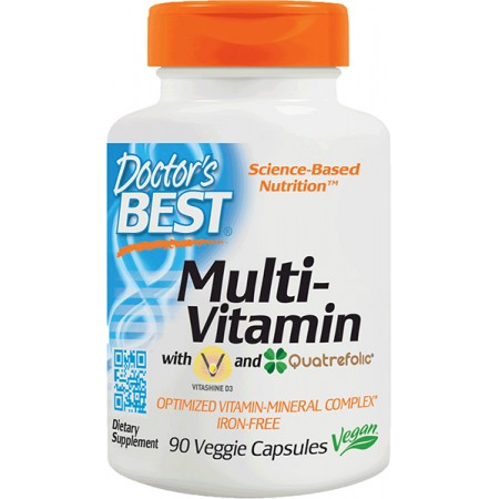 DOCTOR'S BEST Multi-Vitamin 90kap
