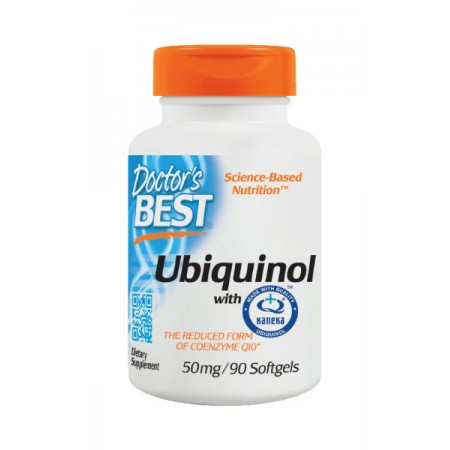 DOCTOR'S BEST Ubiquinol 50mg 90kap