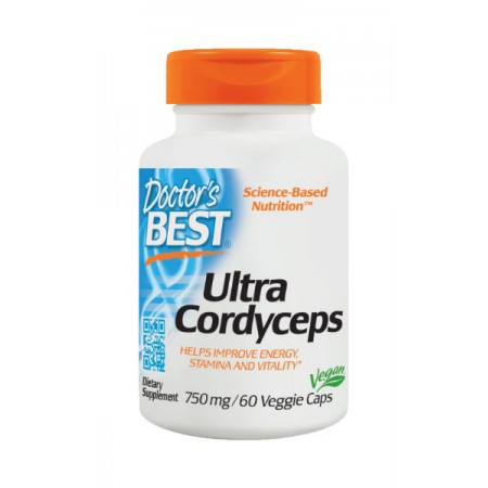DOCTOR'S BEST Ultra Cordyceps 60kap
