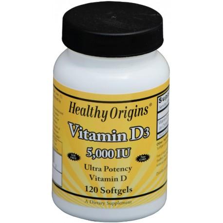 Vitamin D3 5000IU 120kap