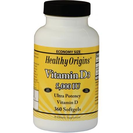 Vitamin D3 5000IU 360kap