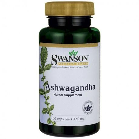 Ashwagandha 100kap 450 mg