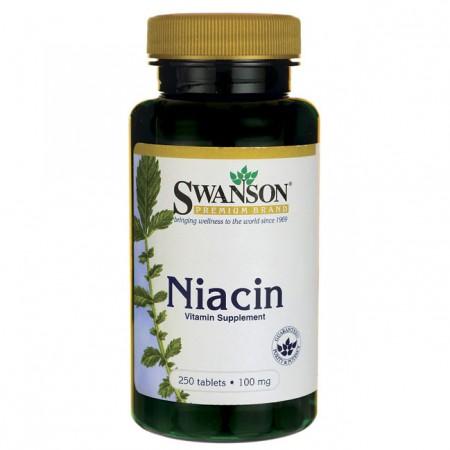 SWANSON Niacin 250tab