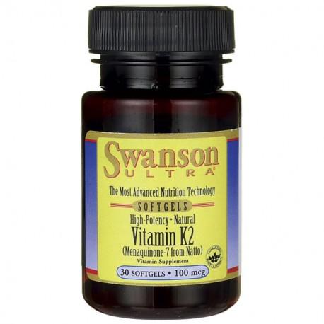 Vitamin K2 Menachinon-7 100mcg 30kap
