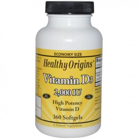 Vitamin D3 2000IU 360kap