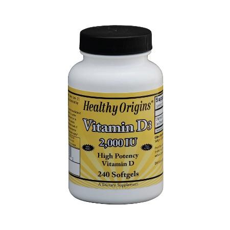 Vitamin D3 2000IU 240kap