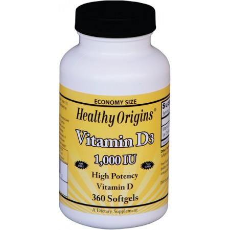 Vitamin D3 1000IU 360kap