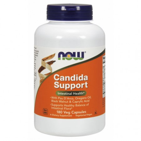 NOW FOODS Candida Support 180kap